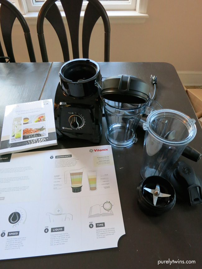 new personal vitamix blender package