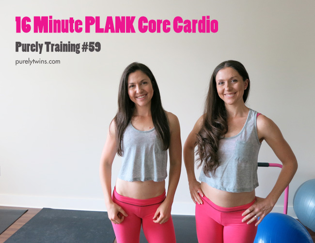plank core cardio home workout purely training