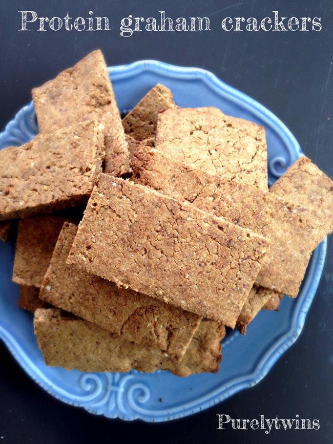 protein graham cracker cookies