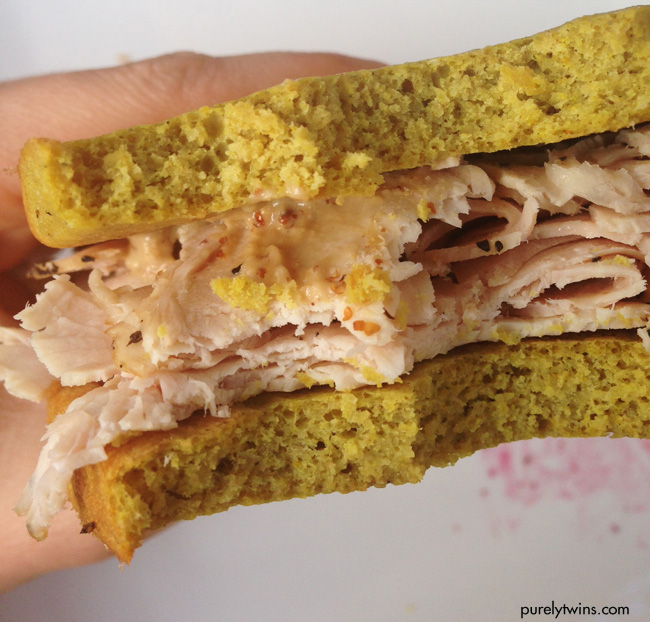 turkey plantain sandwich