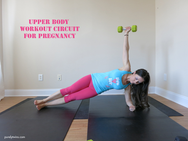 upper body workout circuit for pregnancy purelytwins workout