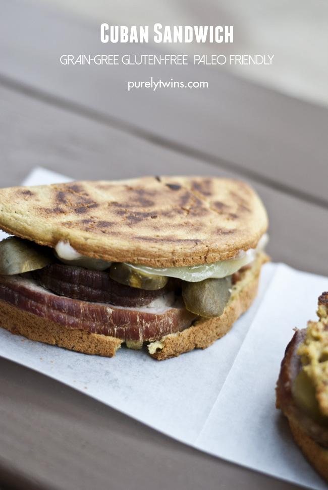 classic cuban ham cheese sandwich healthy grain free purelytwins