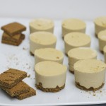 {raw} key lime cheesecake with protein graham cracker crust