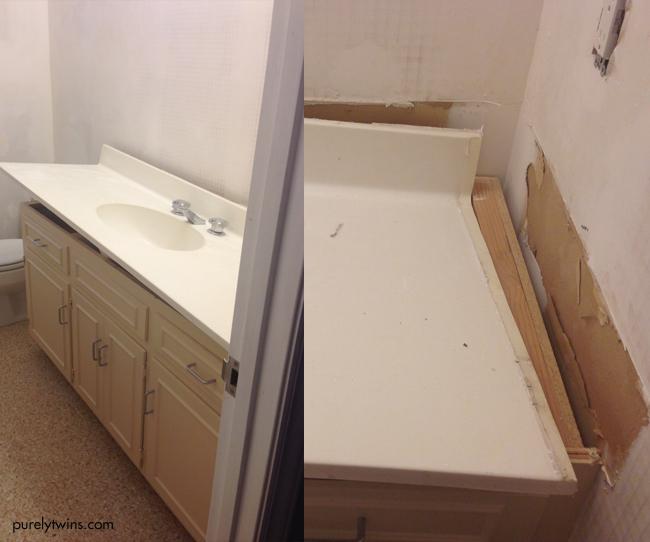 diy bathroom update