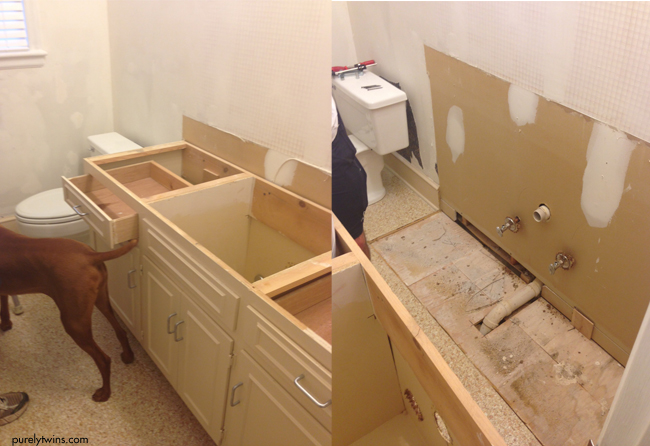 fixing up bathroom ourselves