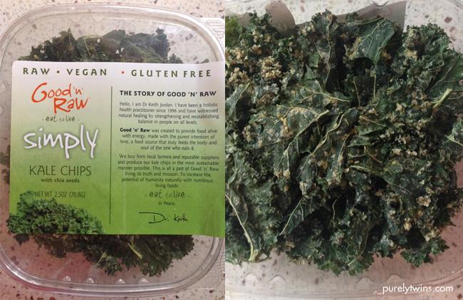 good n raw kale chips