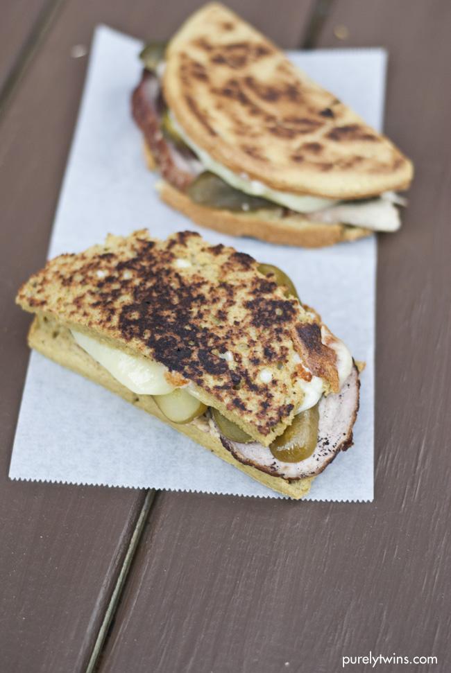 grain free ham cheese cuban sandwich purelytwins