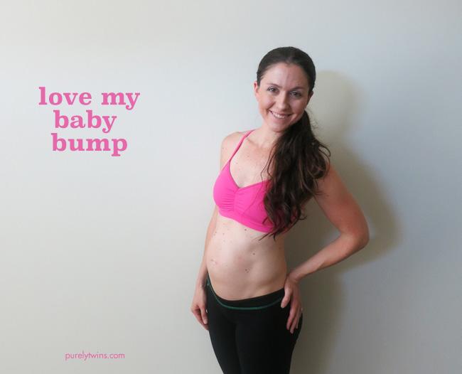 love my baby bump week 19 purelytwins