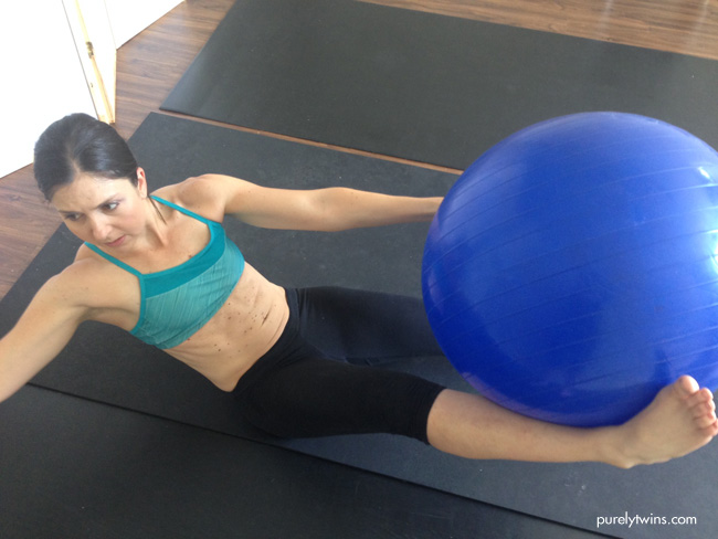 michelle stability ball new move