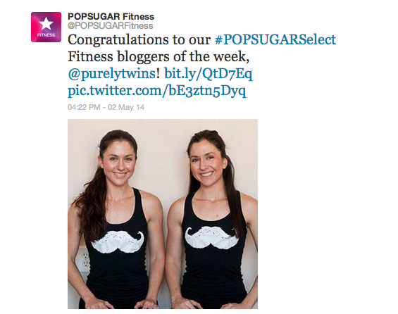 pop sugar fitness select