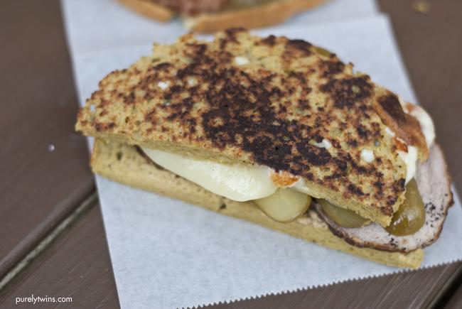 Gluten-free grain-free Cuban sandwich