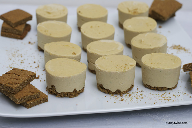 raw key lime cheesecake with protein graham cracker crust