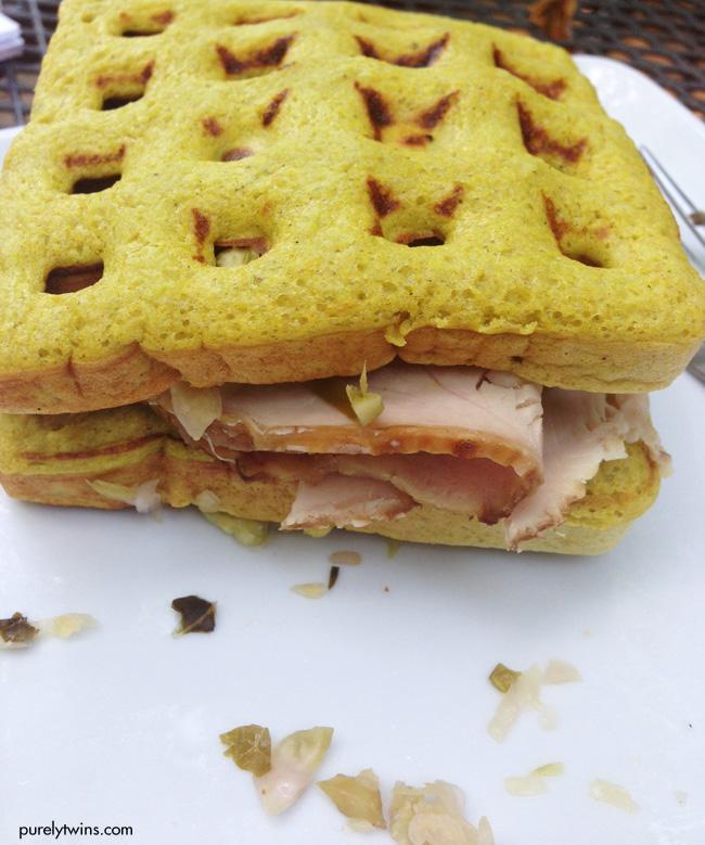 savory turkey sandwich