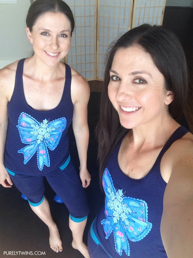 SISTERhood raw threads workout tanks purelytwins fit gear