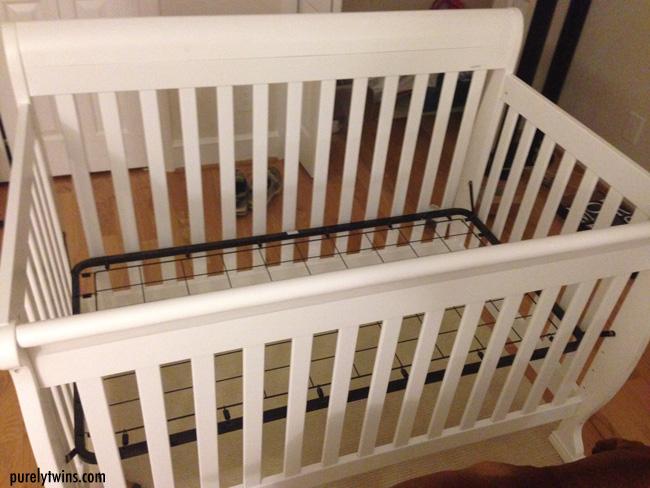 baby white crib davinnci