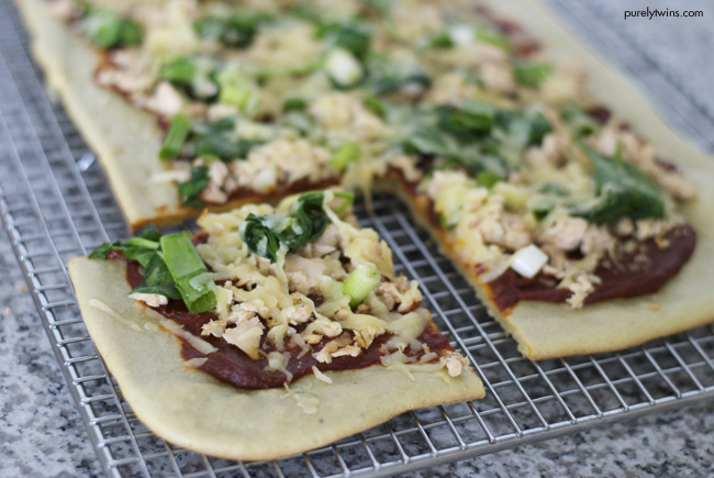 bbq salmon grain free pizza purelytwins