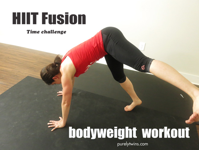bodyweight workout hiit cardio fusion purelytwins