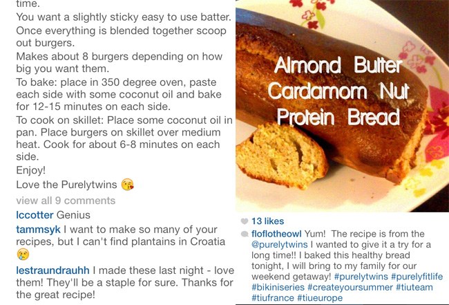 burger love almond bread