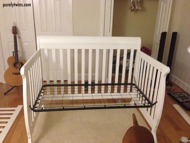crib almost done