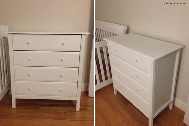 final baby dresser for room