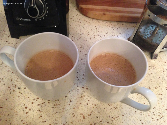 half caff bulletproof coffee purelytwins