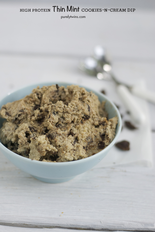 high fat high protein cookies and cream thin mint protein pudding purelytwins