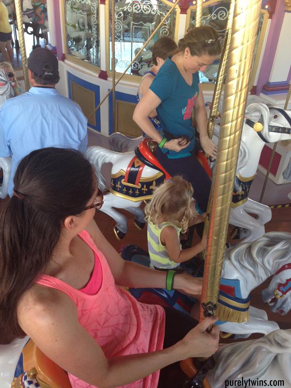 horse ride carousel