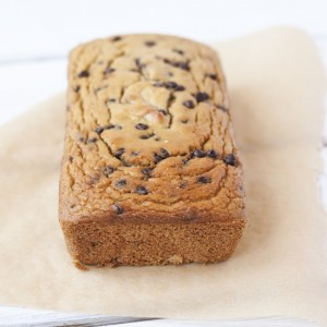 low carb paleo chocolate chip cookie bread