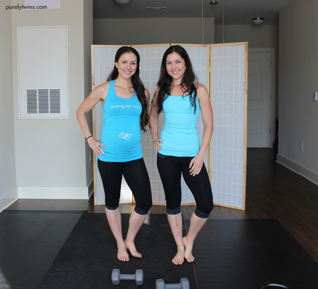 power of two leg 18 minute workout purelytwins outfit