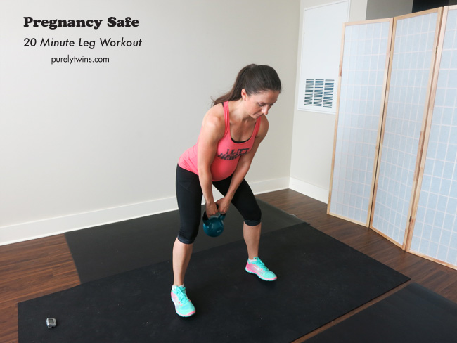 pregnancy safe leg workout purelytwins purelyfitlife