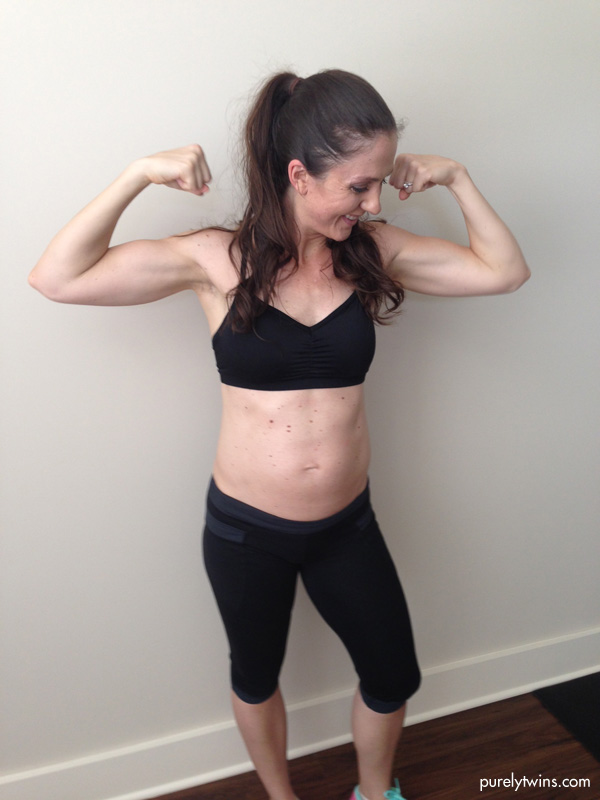 staying strong and fit during pregnancy purelytwins