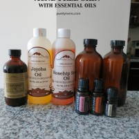 the best oil cleansing mixture for washing our faces to stay acne free
