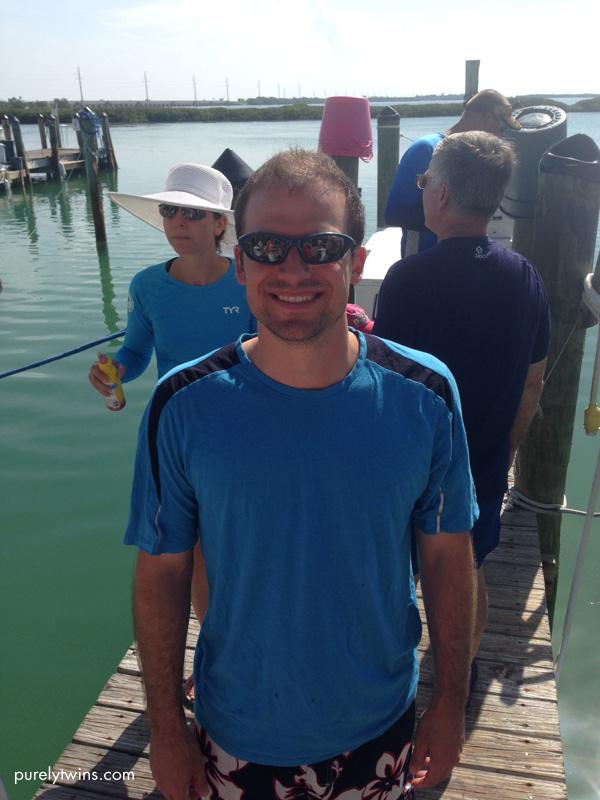 gary at dock