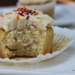 Grain-free vanilla cupcake recipe (with our favorite no sugar frosting)