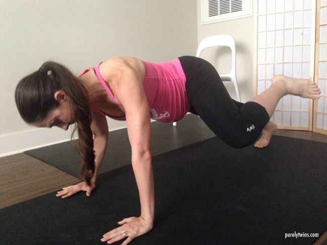 pregnancy workout for strong core