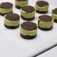 raw andes mint cheesecake (low-sugar, gluten and grain free)