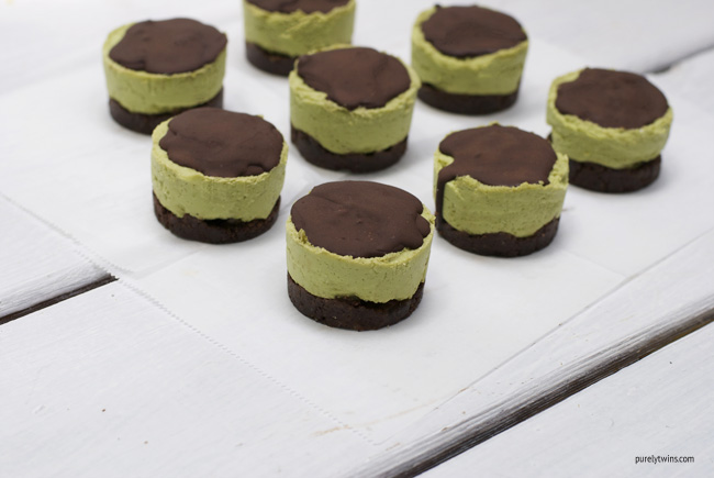 raw andes mint cheesecake (gluten-free, low-sugar)