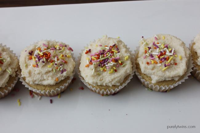 Vanilla cupcakes (gluten, grain, & dairy-free)