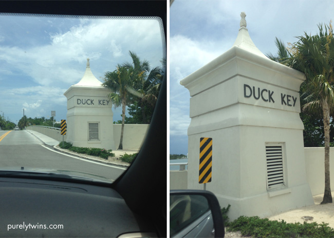 welcome to duck key
