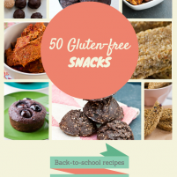 50 homemade gluten-free back to school snack ideas
