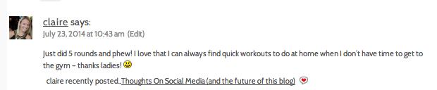7x10 workout comment
