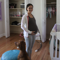 {vlog} nursery tour + what it is like being twins while one has a changing body