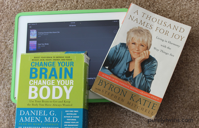 books to change your brain and your body to help eczema