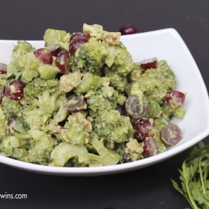 broccoli waldorf salad recipe dairyfree