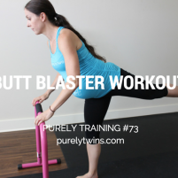 Butt blaster time challenge workout purely training 73