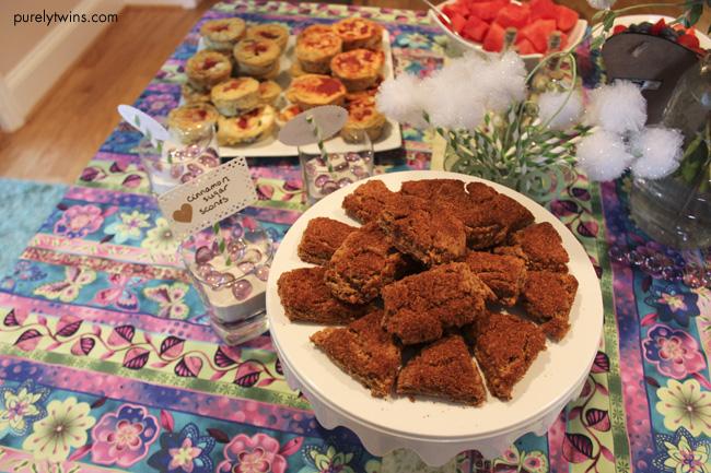 cinnamon sugar gluten free scones
