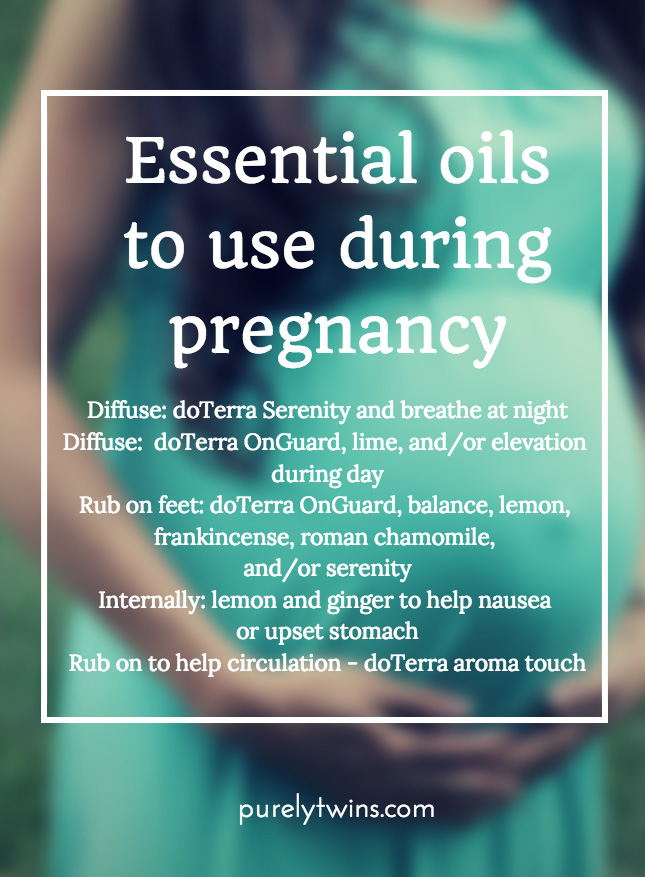 essential oils to use during pregnancy using doterra essential oils purelytwins pregnancy