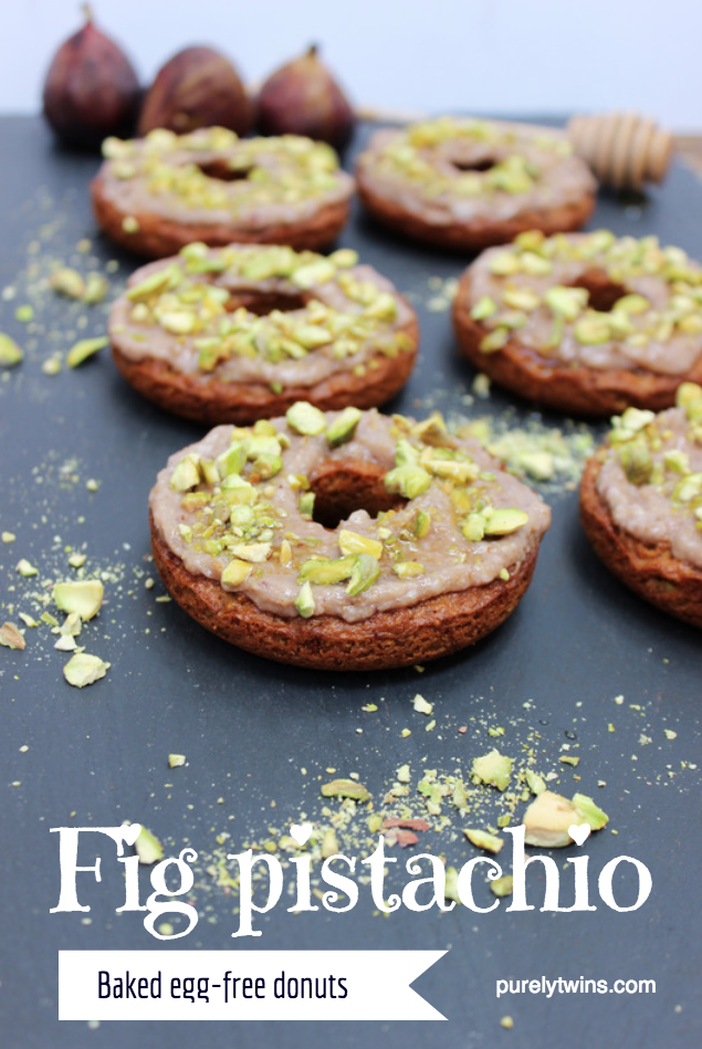 fig pistachio baked egg-free donut recipe grain-free
