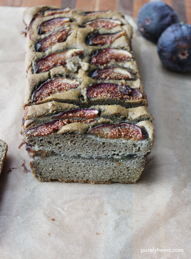 glutenfree grainfree dairyfree fig almond butter bread
