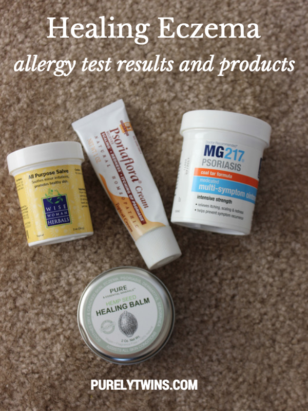 healing eczema patch testing results and products for relief